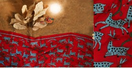 पुष्पारम ✽ Kantha Silk Stole ✽ I