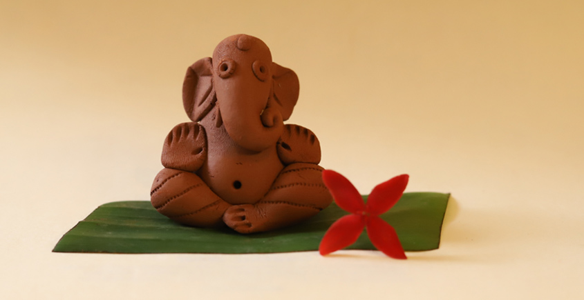 Amod ❦ Eco friendly Ganeshji {K}