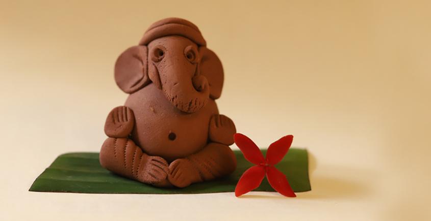 Amod ❦ Eco friendly Ganeshji {N}