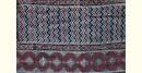 अंजन ◉ Ajrakh Cotton Saree ( Natural Colour ) ◉ 03