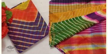 Madhumati ☙ Silk Kota Doria . Leheriya Saree  ☙ 16