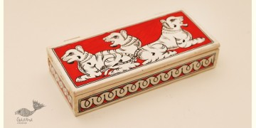 Wooden box ☀ Tiger - 106