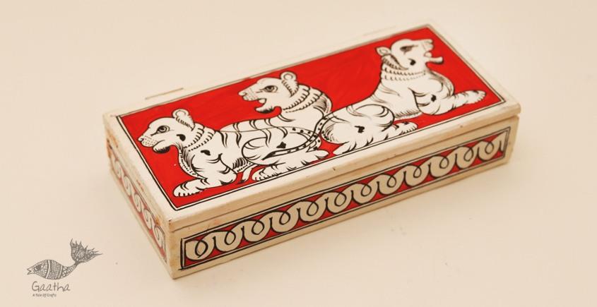 Wooden box ☀ Tiger - 106