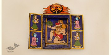 कथनिक ☀ Wooden box ☀ A Wooden Shrine { Single piece } ~ 125
