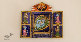 कथनिक ☀ Wooden box ☀ A Wooden Shrine { Single piece } ~ 127