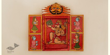 कथनिक ☀ Kaavad a Wooden Shrine { Single piece } ~ 129