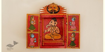 कथनिक ☀ Wooden box ☀ A Wooden Shrine { Single piece } ~ 130