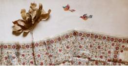 पुष्पारम ✽ Kantha Silk Stole ✽ N
