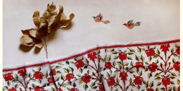 पुष्पारम ✽ Kantha Tussar Silk Dupatta ✽ D