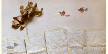पुष्पारम ✽ Kantha Tussar Silk Dupatta ✽ C