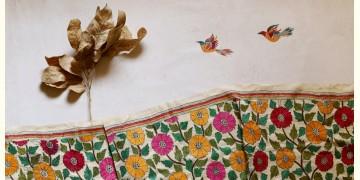 पुष्पारम ✽ Kantha Tussar Silk Dupatta ✽ A