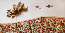 पुष्पारम ✽ Kantha Banglore Silk Dupatta ✽ G