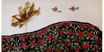 पुष्पारम ✽ Kantha Banglore Silk Dupatta ✽ F