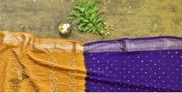 Nianboli . निंबोली  ❂ Cotton Bandhani Saree ❂ 13