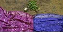 Nianboli . निंबोली  ❂ Cotton Bandhani Saree ❂ 1