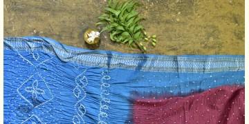 Nianboli . निंबोली ❂ Cotton Bandhani Saree ❂ 10