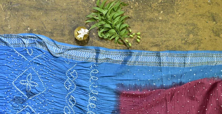summer special Cotton Bandhani Saree