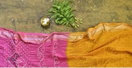Nianboli . निंबोली ❂ Cotton Bandhani Saree ❂ 11