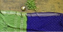 Nianboli . निंबोली  ❂ Cotton Bandhani Saree ❂ 12