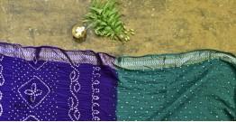 Nianboli . निंबोली  ❂ Cotton Bandhani Saree ❂ 14