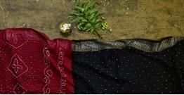 Nianboli . निंबोली  ❂ Cotton Bandhani Saree ❂ 2