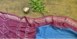 Nianboli . निंबोली  ❂ Cotton Bandhani Saree ❂ 3