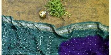 Nianboli . निंबोली  ❂ Cotton Bandhani Saree ❂ 4