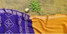 Nianboli . निंबोली  ❂ Cotton Bandhani Saree ❂ 5