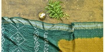 Nianboli . निंबोली  ❂ Cotton Bandhani Saree ❂ 7