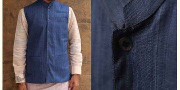 Swavalamban ◉ Handwoven ◉ Cotton Koti / Jacket - 14
