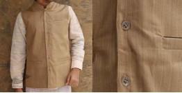 Swavalamban ◉ Handwoven ◉ Cotton Koti / Jacket - 16