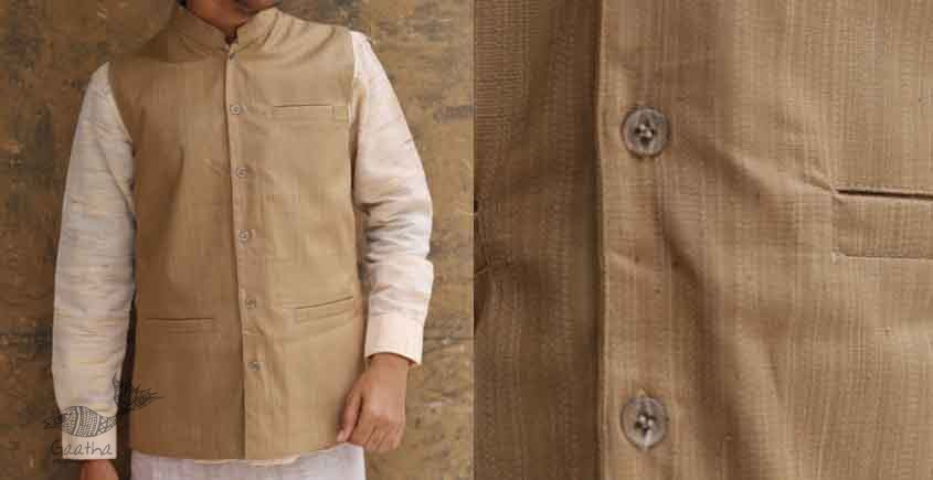 handwoven Cotton - Men Koti / Jacket