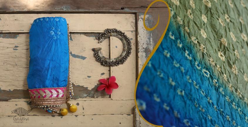 बीनणी ★ Silk Bandhni Dupatta ★ 14