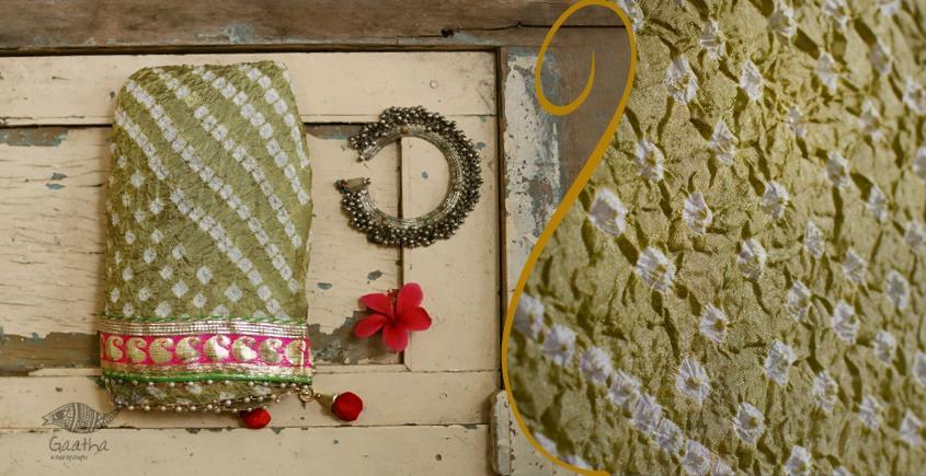 बीनणी ★ Silk Bandhni Dupatta ★ 16