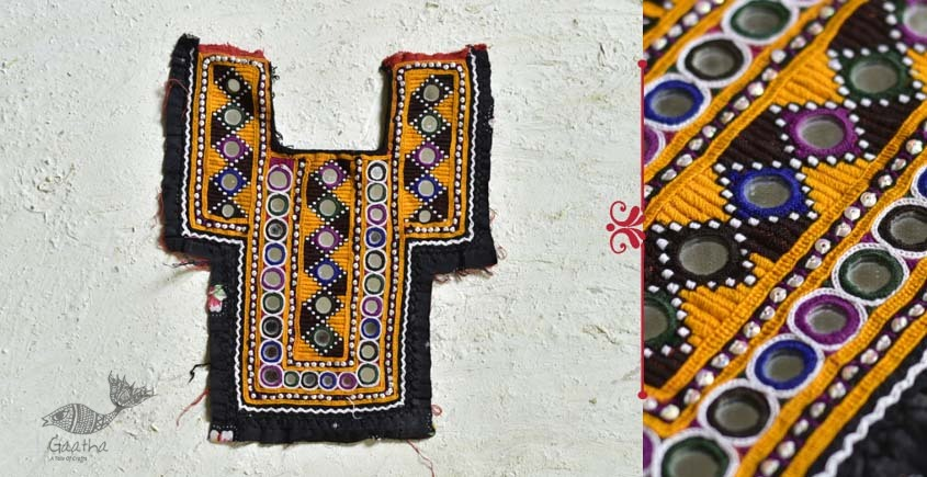 Pieces of Sindh ✠ Hand Embroidered Antique Piece ✠ 27