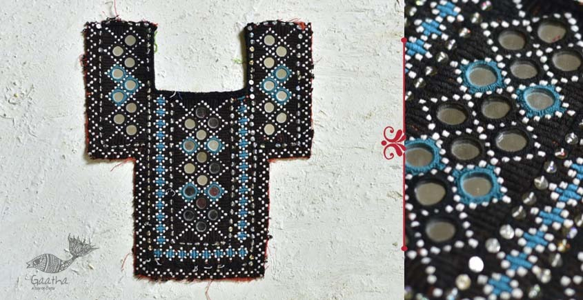 Pieces of Sindh ✠ Hand Embroidered Antique Piece ✠ 29