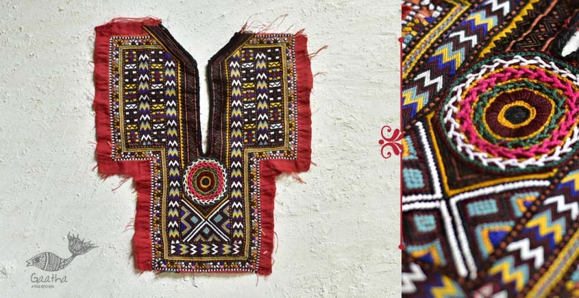 Pieces of Sindh ✠ Hand Embroidered Antique Piece ✠ 40
