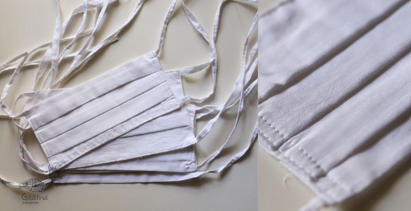 Be safe & stylish ✜ Mul Cotton Layered Mask ( Set of 4 ) ✜ A