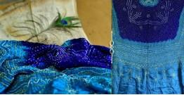 Pearls of Wisdom ❉ Bandhani Gajji Silk Dupatta ❉ 11