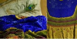 Pearls of Wisdom ❉ Bandhani Gajji Silk Dupatta ❉ 2
