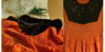 Pearls of Wisdom ❉ Bandhani Gajji Silk Dupatta ❉ 5