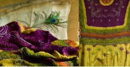 Pearls of Wisdom ❉ Bandhani Gajji Silk Dupatta ❉ 7