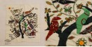 The Tree in the Courtyard  ❂  Embroidered Applique Art