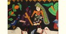 Farmer Couple   ❂  Embroidered Applique Art