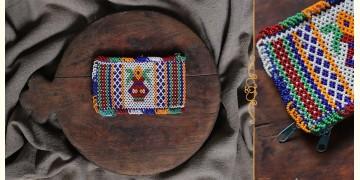 """Tribal trails  ~ Bead Mini Purse (5.2"""" x 3"""")"""