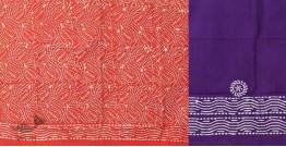 Upasna | Batik Dress Material ~ 8