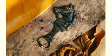 "Antique Finish Brass . Bottle Opener - 4.5"" x 2"" ❋ D"