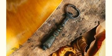 """Antique Finish Brass . Bottle Opener - 5"""" x 3"""" ❋ G"""