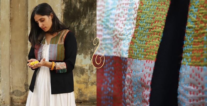 धनक ✥ Kantha custom made Jacket ✥ 20