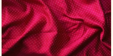 Mashru ❆ Silk+cotton (Rani Pink Colour) ❆ Fabric ❆ 11 ( Per meter )